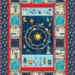 Space adventure quilt kit