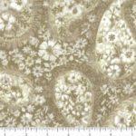 """BD-49374-A11 Parchment Floral Paisley Choice 108"""" Quilt Backing"""