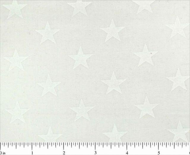 BD-49189-A01 White with medium stars