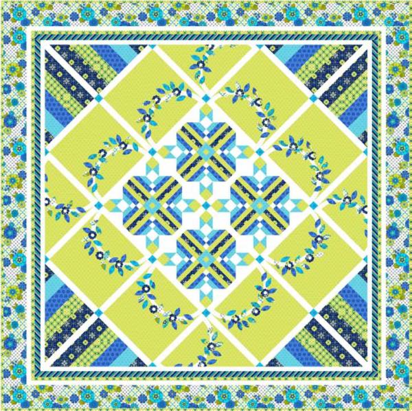 Mediterranean Dream Quilt Kit