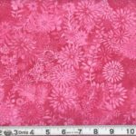 "Pink Zinnia Garden 108"" Extra Wide Quilt Backing"