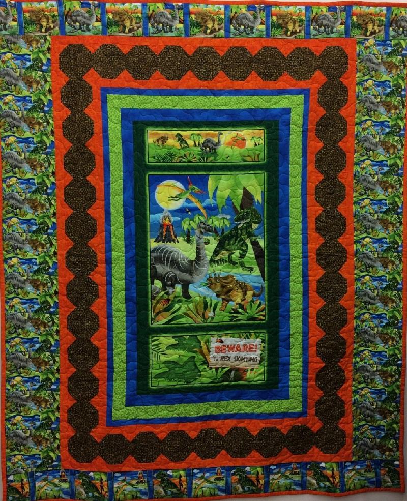 Dinosaur Quilt Kit