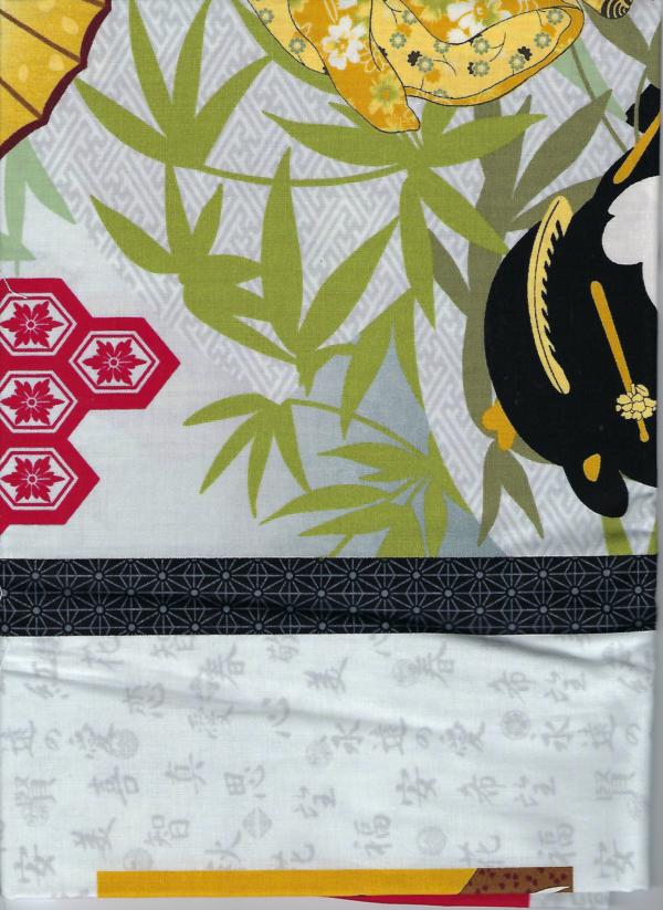 Geisha's Garden panel