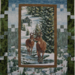 Winter Stillness Flannel Quilt Kit