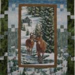 Winter Stillness Flannel Quilt Kit